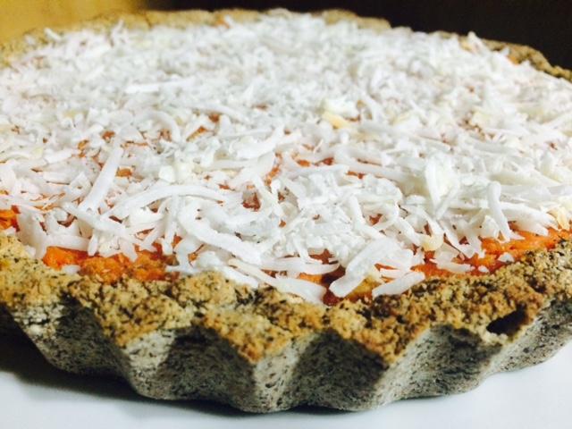 torta de cenoura e sarraceno